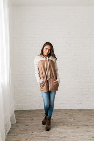 Staycation Cowl Neck Top - ALL SALES FINAL
