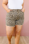 Summer Nights Leopard Print Shorts