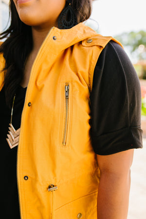 Sunny Outlook Hooded Vest