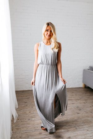 Topaz Bay Maxi In Heather Gray