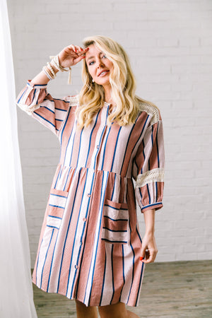 Weekend In The Hamptons Midi Dress