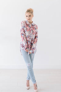 Bryant Blossoms Blouse