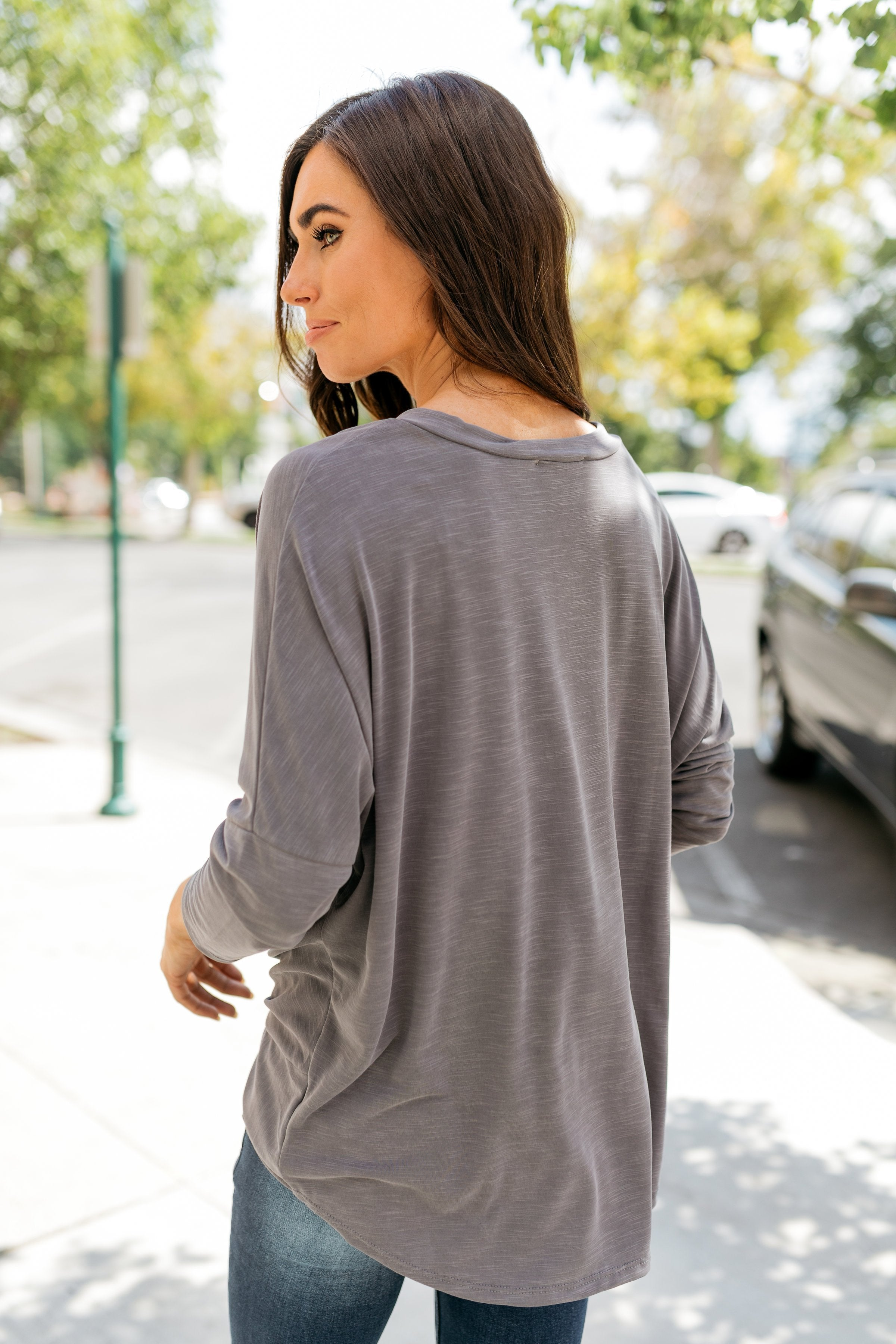 Drama Queen Draped Modal Top