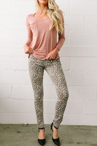 Fast And Furious Faded Leopard Print Jeans - ALL SALES FINAL
