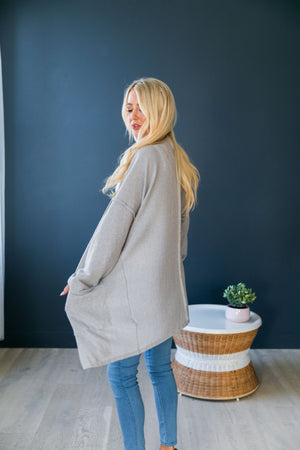 Gray Skies Cardigan