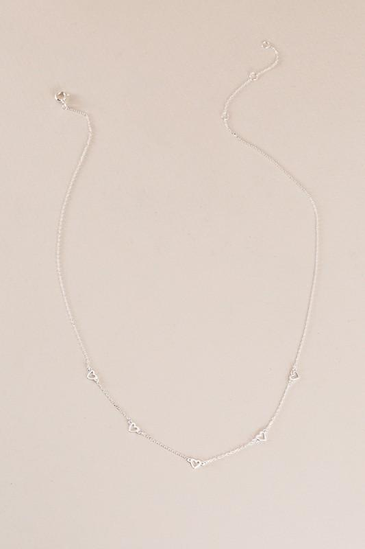 Heart's Desire Sterling Silver Necklace - ALL SALES FINAL