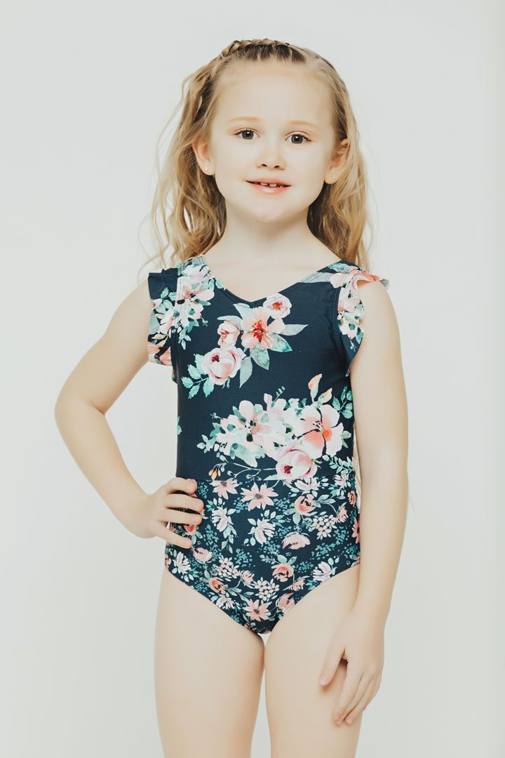 Kids Riverwalk Ruffle Sleeve One Piece
