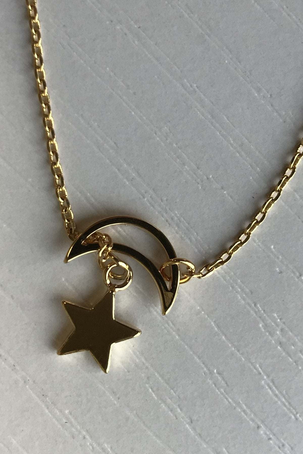 Night Sky Gold Dipped Necklace - ALL SALES FINAL