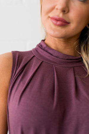 Pleats A Plenty In Dusty Lilac - ALL SALES FINAL