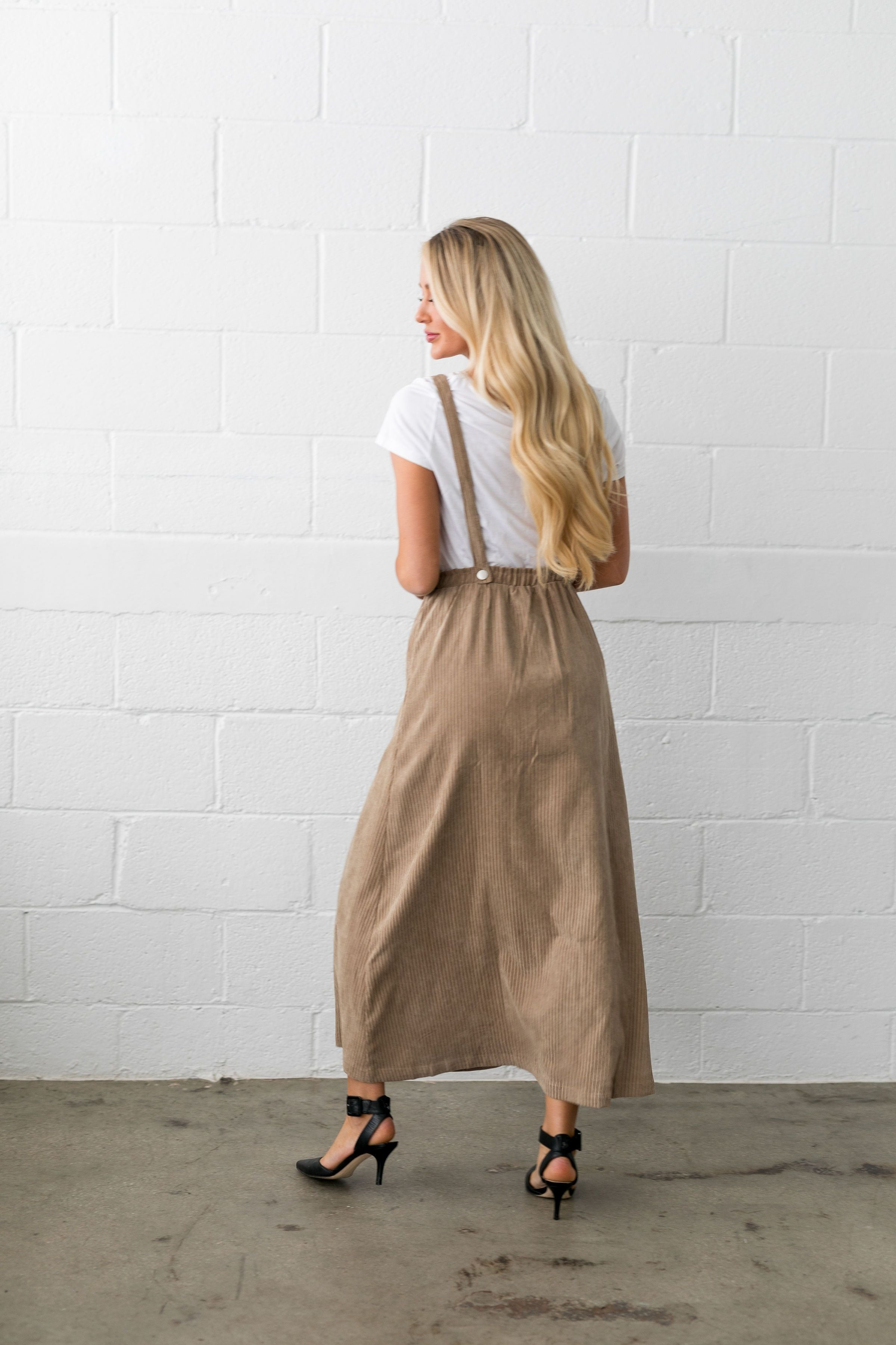 The Suspense Is Killing Me Skirt - ALL SALES FINAL