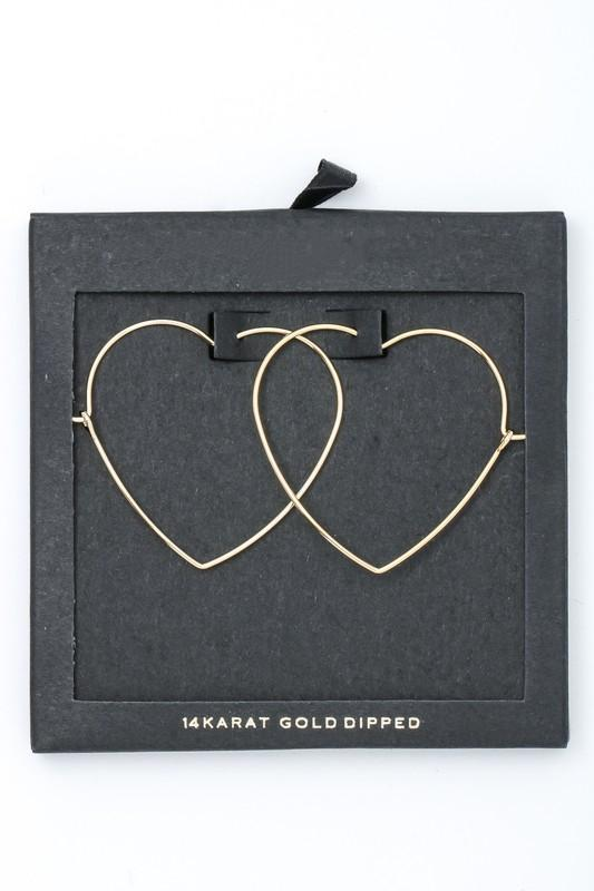 Young At Heart Earrings in 14K Gold