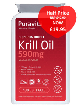 Puravits Superba Boost Krill Oil