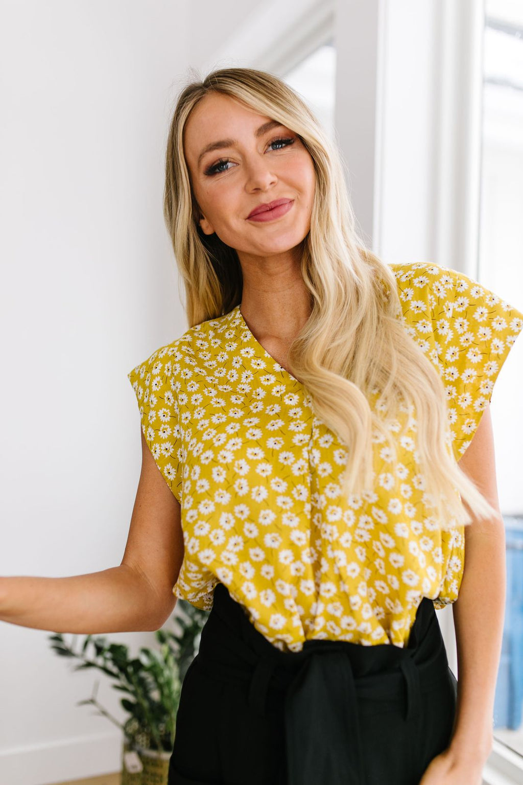 Spring Daisies Blouse