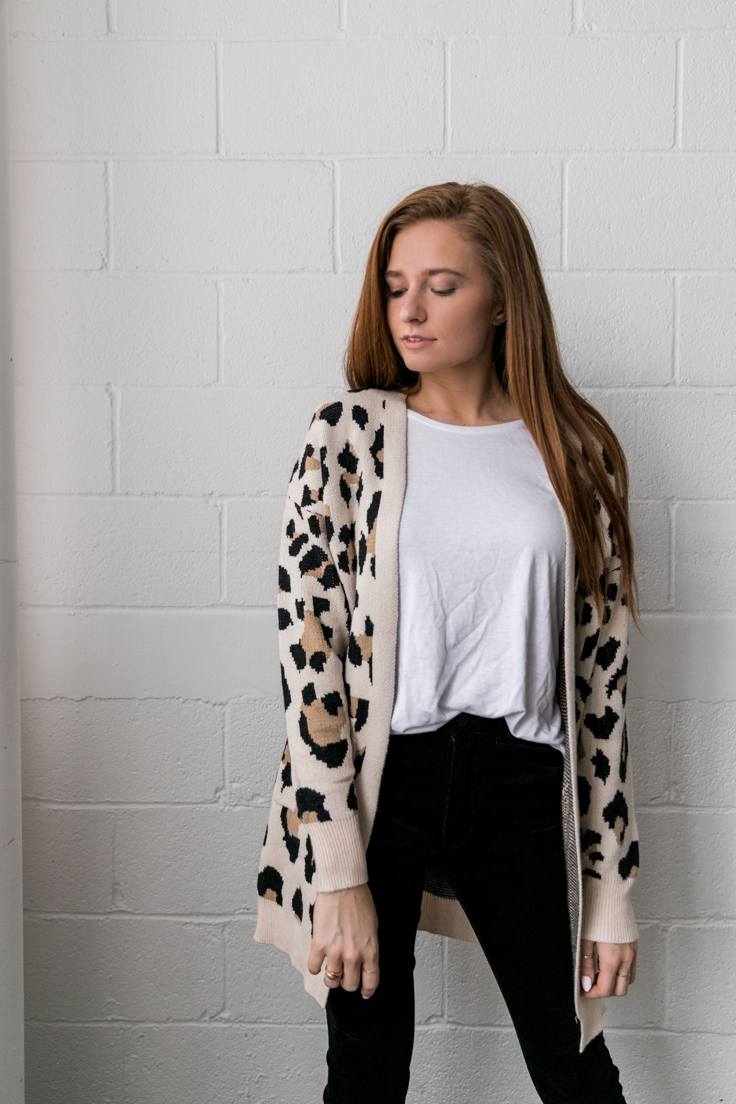 A Girl Can Change Her Spots Cardigan