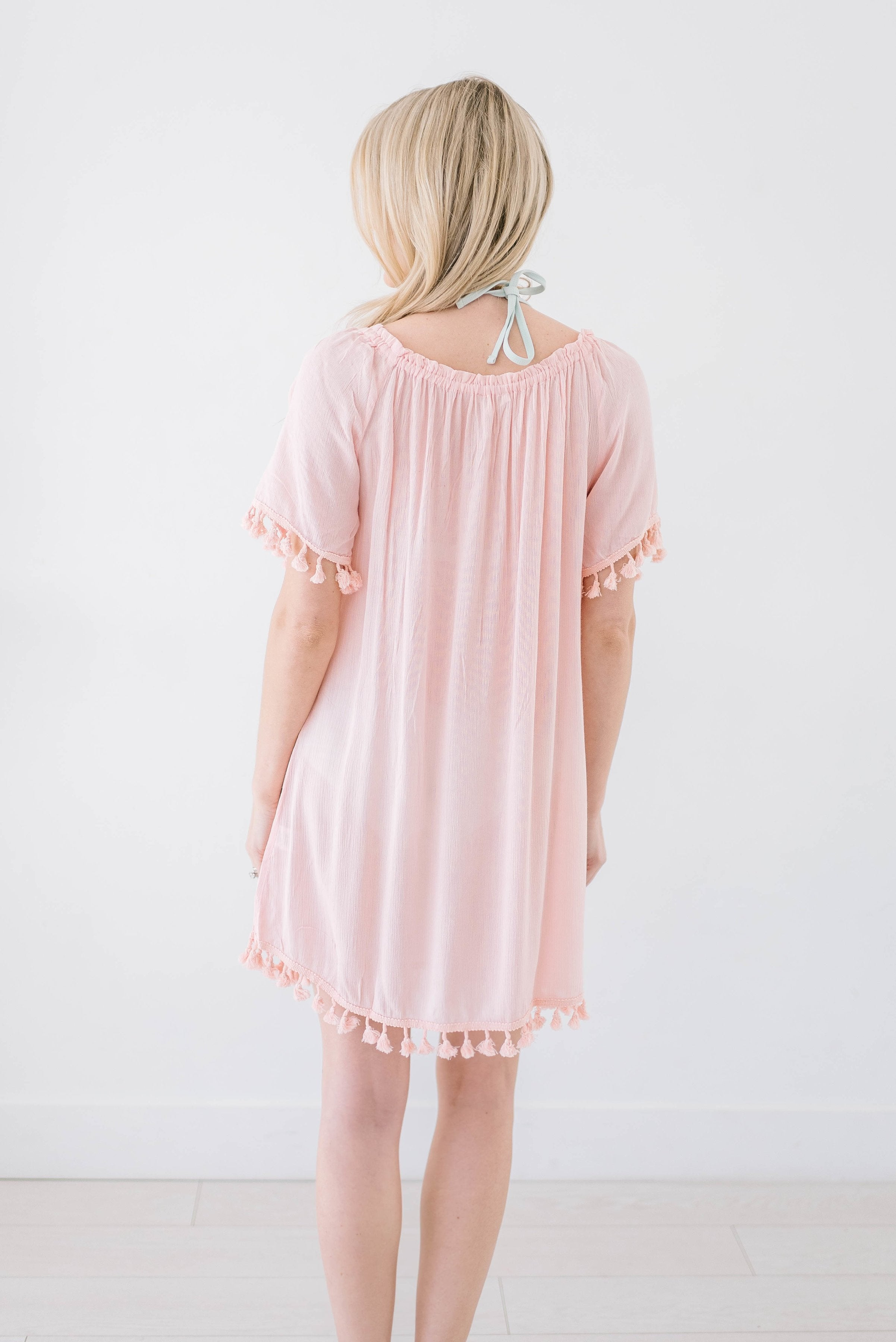 Belmar Beach Cover Up In Blush