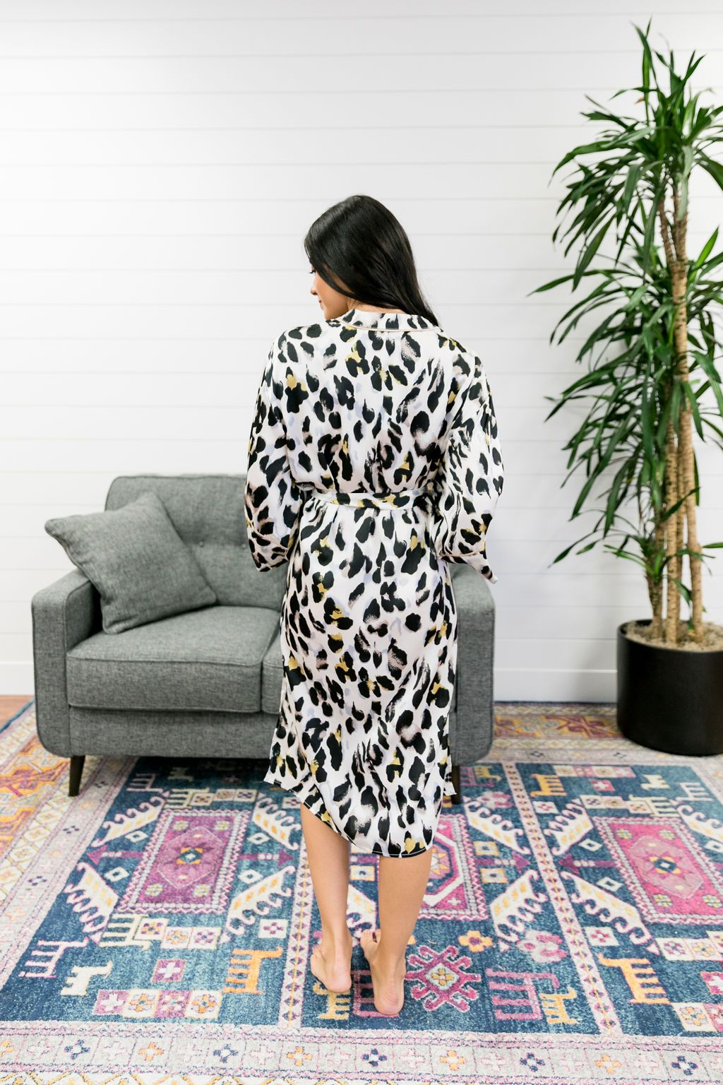 Exotic Creature Leopard Robe