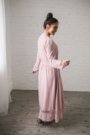 First Blush Swiss Dot Dress