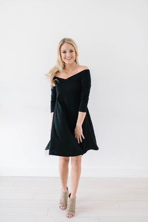First Date Dress In Black