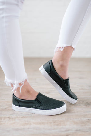 Out + About Slip-Ons in Black