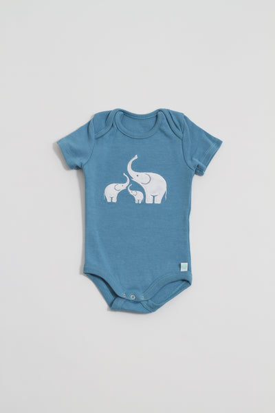 Coastal Blue Elephant Bodysuit