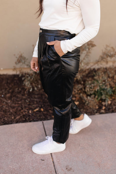 Back To The Future Trousers in Black