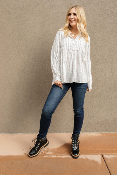 Bethany Button-Up Top
