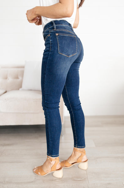 Center Seam Skinny Jeans