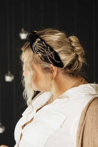 Dark Magic Velvet Headband