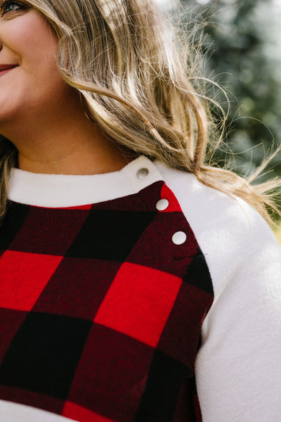 It's Good To Be Plaid Pullover