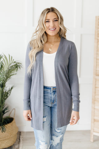 Million Dollar Charcoal Cardigan