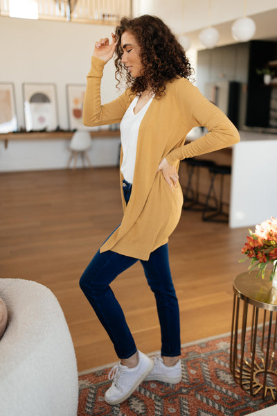 Million Dollar Marigold Cardigan