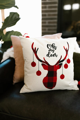 Oh My Deer Pillow Case