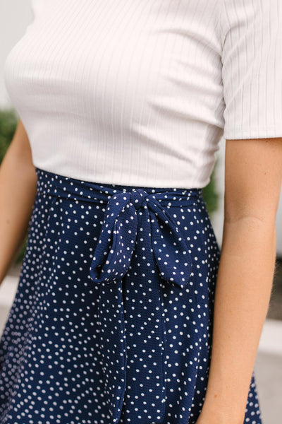 Pretty Please Polka Dot Dress