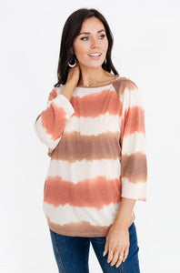 Spring Days Tie Dye Top