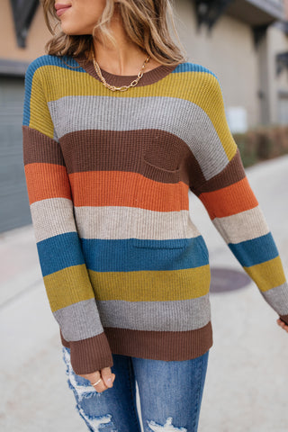 Summoning Fall Striped Sweater