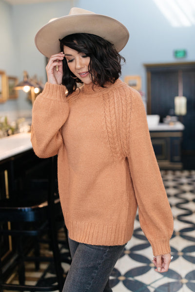 Your Favorite Knit Sweater in Carrot