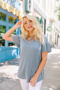 Dream Catcher Striped Top