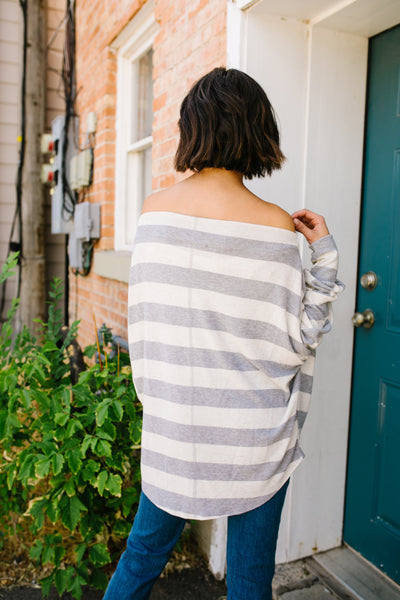 Dreaming Of You Soft Striped Top