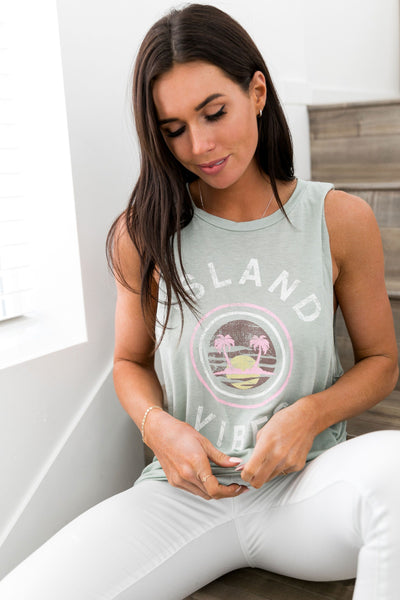 Island Vibes Tank - ALL SALES FINAL
