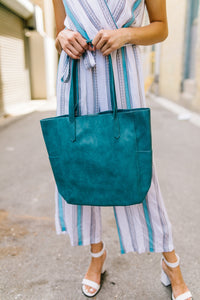 Pretty As A Peacock Tote