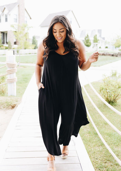 Room To Spare Jumpsuit In Black