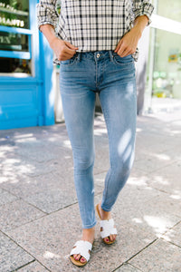 Summer Send-off Light Wash Jeans