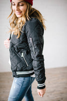 The Bomb Jacket in Black