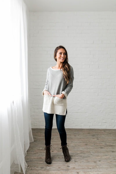 Tip The Balance Tunic - ALL SALES FINAL