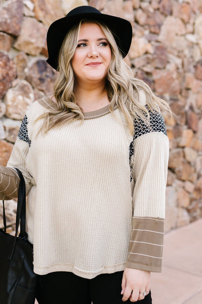Trending In Taupe Top