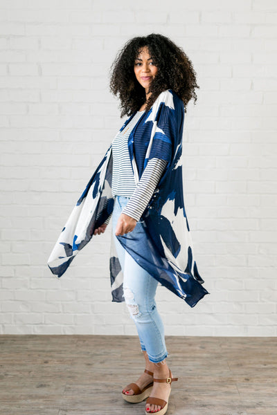 Water Garden Kimono - ALL SALES FINAL
