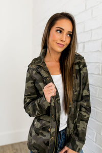 You Can Do Anything Camouflage Jacket - ALL SALES FINAL