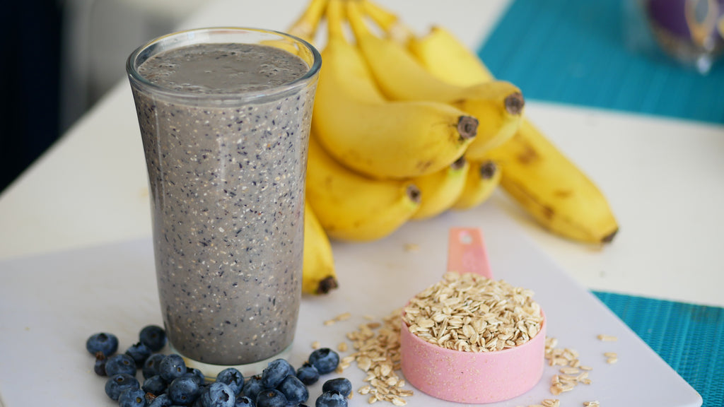 Blueberry Muffin Smoothie - (Great for Digestion)