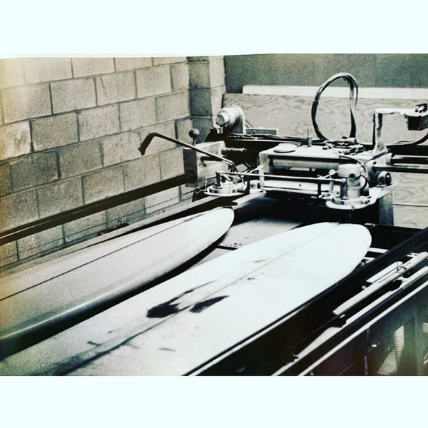 First Shaping Machine at G&S  in the 60s