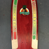 "30"" PineDesign Reissue with Routed Rails - RED"